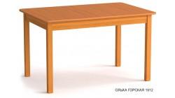 Стол раздвижной, столешница с закруглениями