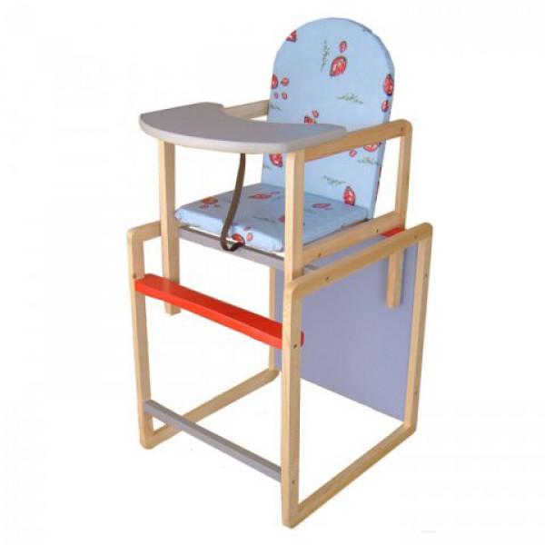 Самая недорогая цена среди аналогов: стульчик для кормления с высокой спинкой! Интернет магазин 1-й фабрики. Доставка по России дешево!