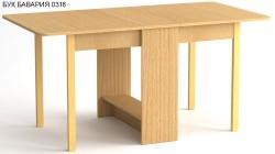 Стол - книжка, столешница с закруглениями