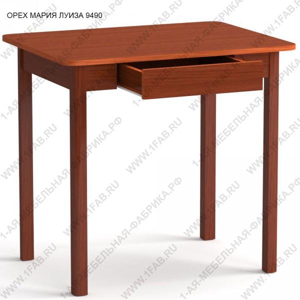 Стол кухонный, с ящиком, малый