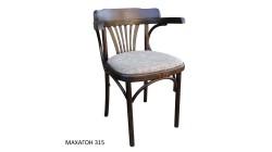 Венское кресло КМФ-120-01-2, Роза, махагон