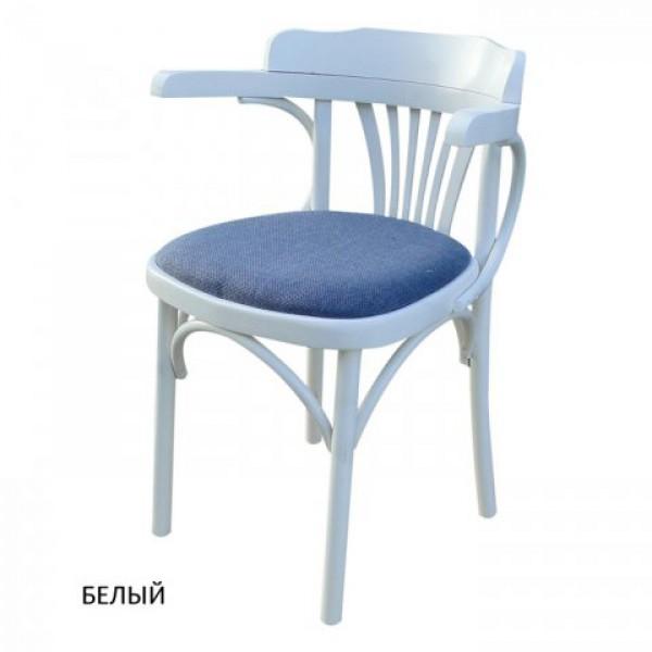Венское кресло КМФ-120-01-2, Роза, белый