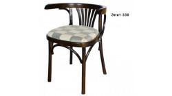 Венское кресло деревянное, Б – 1656 – 01 – 2, Марио, с мягким сиденьем