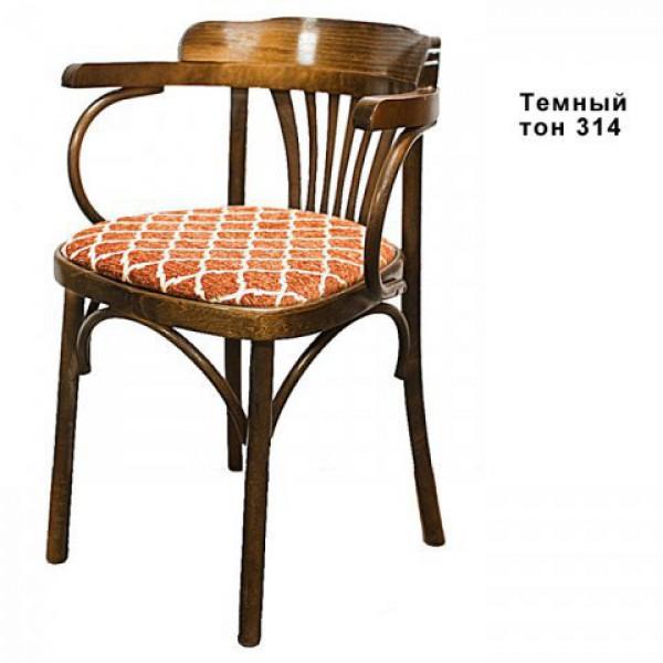 Венскре кресло, Б – 6072 – 2, классик, с мягким сиденьем