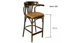 Барное кресло, КМФ 305–01–2, Аполло, с мягким сиденьем, 65 см