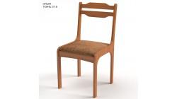 Стул Лада, цвет Ольха, ткань мебельная коричневая