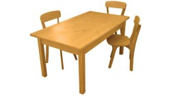 Стол Непоседа 1000х550х520 мм (массив сосны)