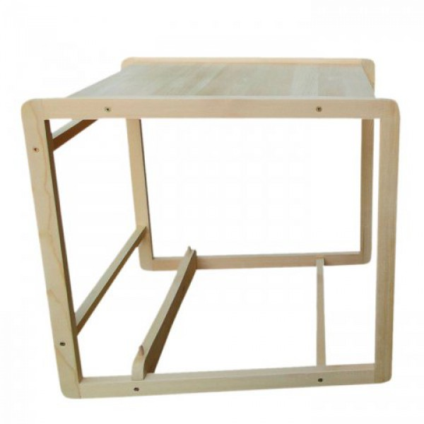 Самой сшить или связать сыну, внучке чехол и накидку на деревянное сиденье: деревянный стул для кормления Непоседа-2, 1-ая фабрика!