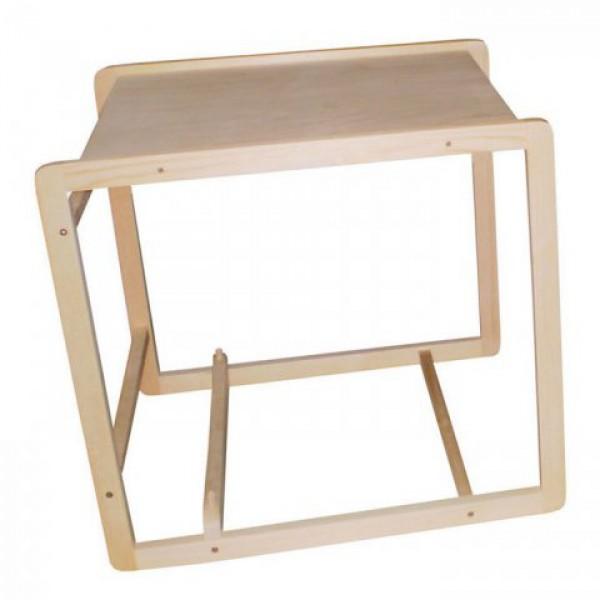 Красоты водного мира на деревянном стульчике для кормления круглый год! Интернет магазин 1-й мебельной фабрики. Опт. Розница. Доставка.