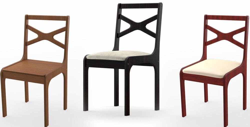 Купить деревянные стулья спинка крест на крест Инга и Ингольф от Икеа недорого